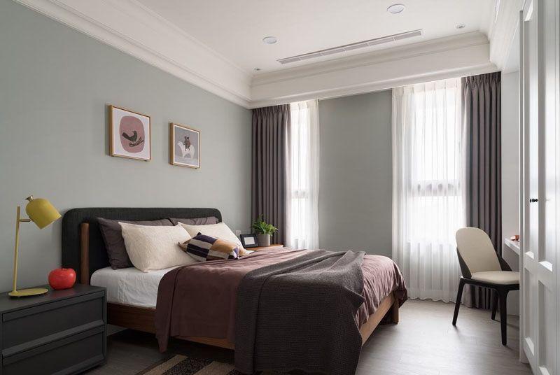 Bạn có biết phòng ngủ có thể đẹp lên bất ngờ chỉ với bộ mành rèm
