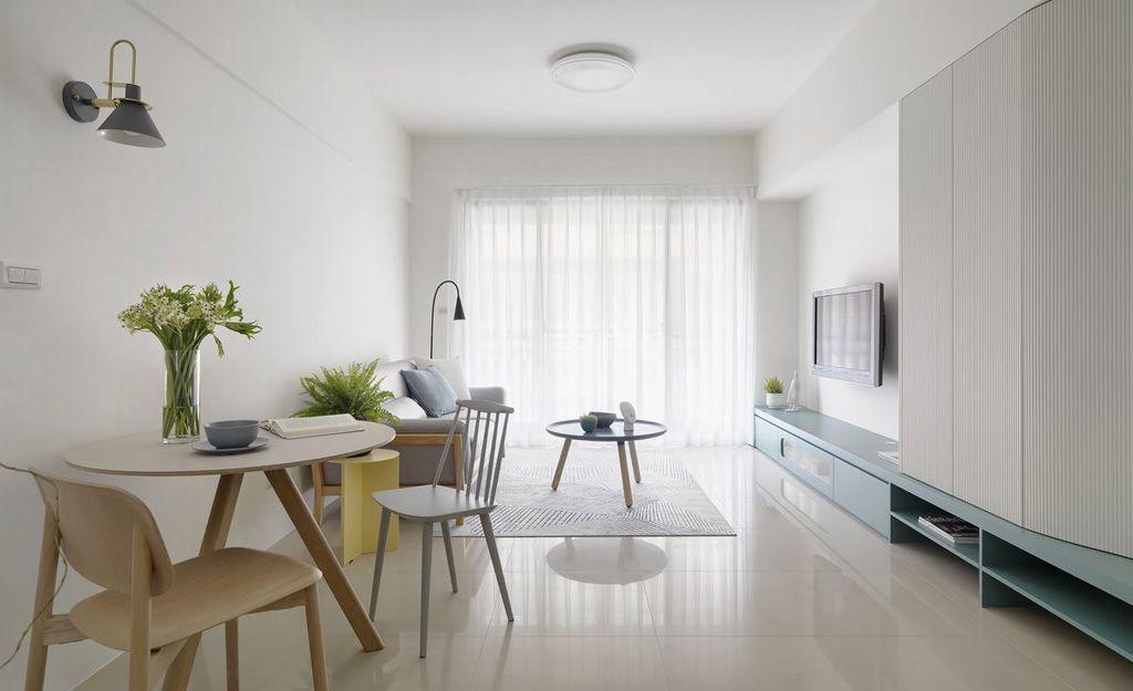 Thiết kế thi công nội thất chung cư đơn giản mà đẹp