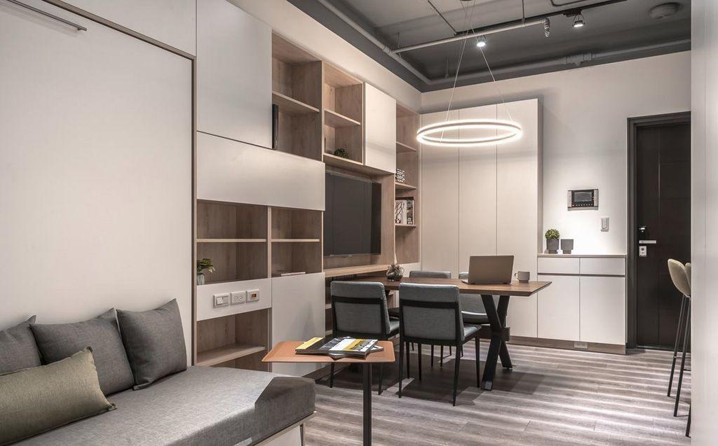 Thiết kế thi công nội thất chung cư nhỏ đẹp diện tích 60m2