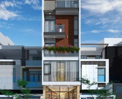 Nhà phố 5 tầng kết hợp kinh doanh