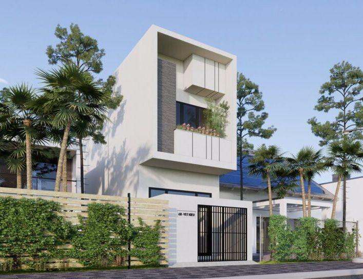 Thiết kế nhà phố hiện đại đơn giản mà đẹp