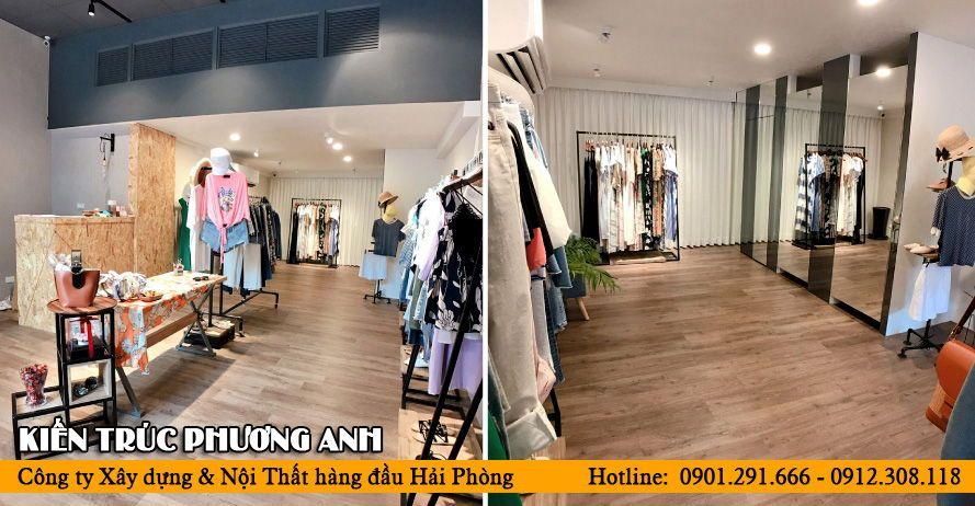 Decor shop quần áo đẹp và đơn giản