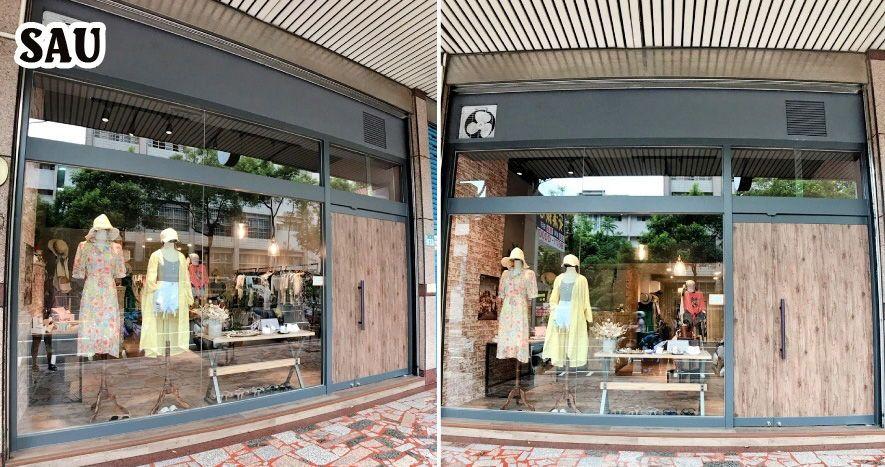 Shop thời trang nữ sau khi thiết kế thi công nội thất