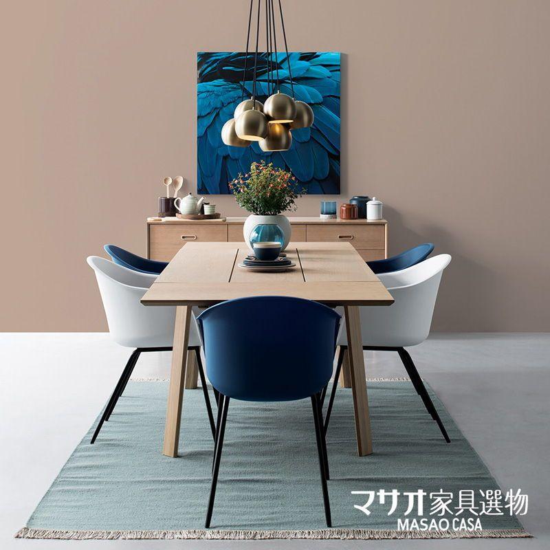 Bàn ăn gỗ sồi phong cách Nhật Bản Oschatz