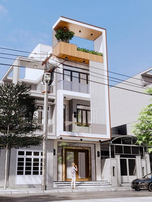 Mẫu nhà 4 tầng đẹp | 20 thiết kế nhà được yêu thích nhất