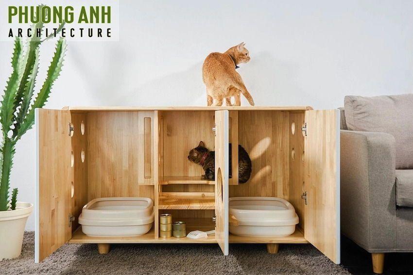 Nội thất thông minh chế tạo không gian sống cho pet cưng