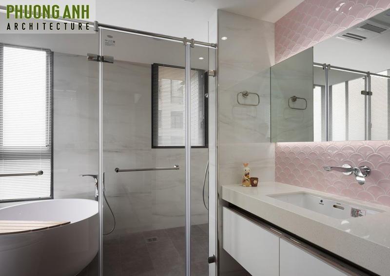Thiết kế phòng tắm cho nữ