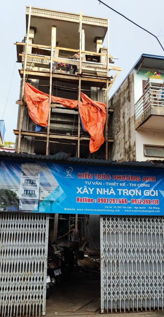 Xây nhà trọn gói tại quận Hải An Hải Phòng